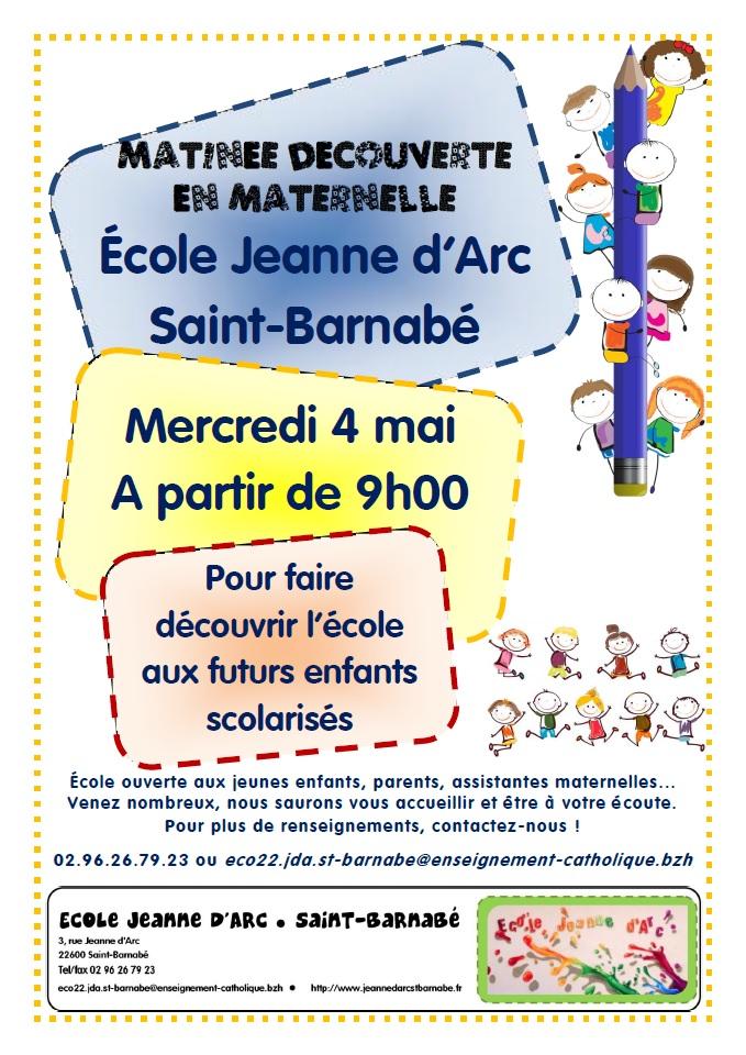 Affiche JdA_Matinée Découverte. 04.05.2016
